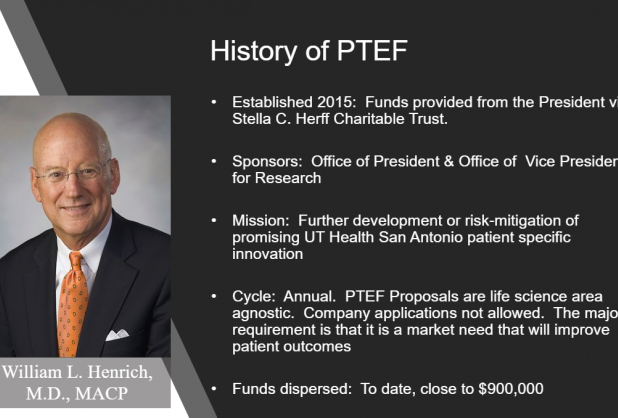 History of PTEF