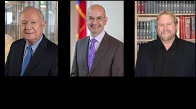 Co-principal investigators, Bob Clark, M.D.; Andrea Giuffrida, Ph.D. and Randy Strong, Ph.D.