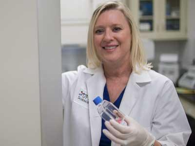 Dentist-scientist Dr. Cara Gonzales's research into oral cancer and pain searches for a cure to help survivors cope.
