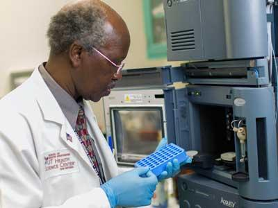 Forensic chemistry expert Dr. George Kudolo