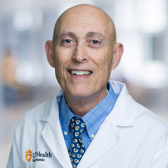 Robert J. Chilton, D.O., associate professor of medicine and director of the Cardiac Catheterization Laboratory at the Audie L.