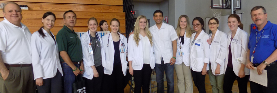 Physicians assistants students