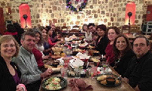 Vicki Shapiro at the Sarcoma Support Group holiday party